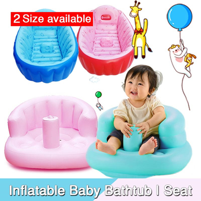 qoo10 inflatable baby bathtub inflatable baby chair. Black Bedroom Furniture Sets. Home Design Ideas