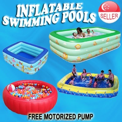 Qoo10 Inflatable Swimming Pools Toys Children Pool Kids Baby Christmas Gift Sports Equipment