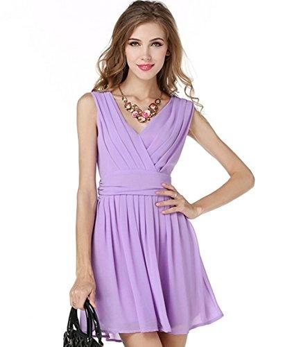 Stretch Viscose Jersey-Violet-Robe Tissu-Free p/&p