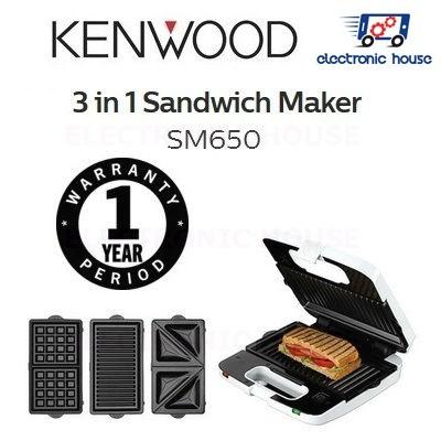 Sandwichmaker 3 in 1