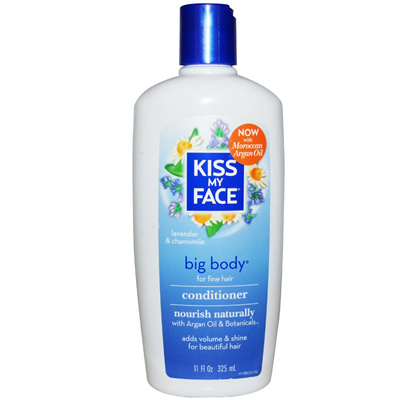 qoo10 kiss my face big body conditioner lavender and