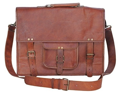 KAUKKO Canvas backpack Sports Shoulder Messenger Bag  Tote School Gym Laptop 255