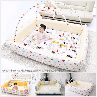 Qoo10 Korea Shubi Bumper Foldable Bed Baby Playmat