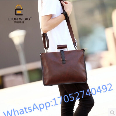 Tiding New Luxury Italian Cow Leather Mens Travel Backpack Vintage Soft Solid String Rucksack Overnight Weekend Bag Brown Women Street Price Men's Bags Luggage & Bags