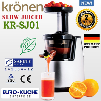 Slow Juicer Mondial Sj 01 : Qoo10 - [KRoNEN KR-SJ01 SLOW JUICER] READY STOCK IN SG 2YR WARRANTY SAFE... : Home Electronics
