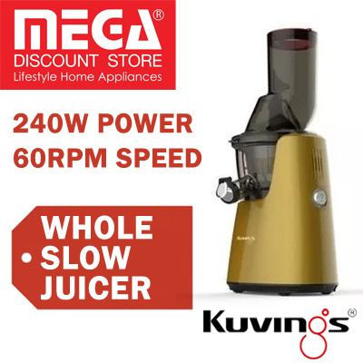 Qoo10 - KUvINGS C7000 WHOLE SLOW JUICER / FREE GIFT / LOCAL WARRANTY : Home Electronics