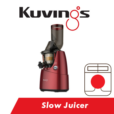 Qoo10 - [Kuvings] Slow Juicer Red [NS621CBS2 RD] [B6000R] 1 Year warranty on P... : Home Electronics