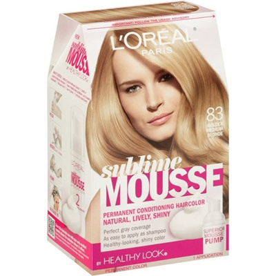 Qoo10 L Oreal Sublime Mousse By Healthy Look Hair Color Golden Medium Blond Hair Care