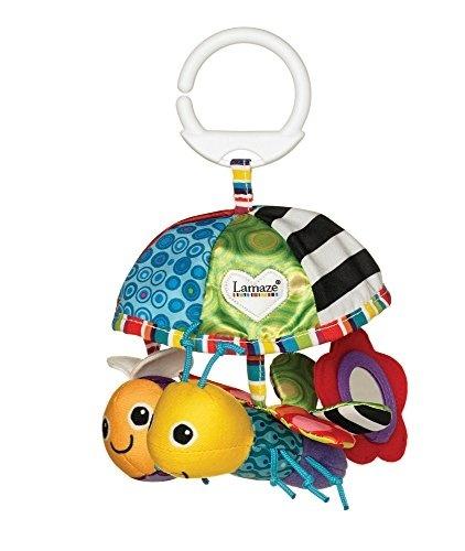 Kinderwagenkette Kinderwagenspielzeug Sleeping Forest Spiegel Quietsche Rassel