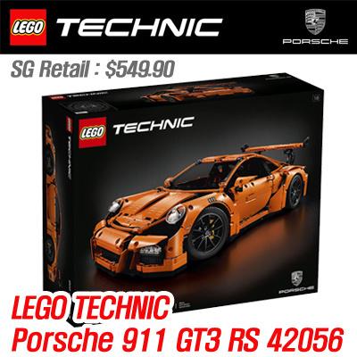 qoo10 lego lego technic porsche 911 gt3 rs 911 gt3. Black Bedroom Furniture Sets. Home Design Ideas