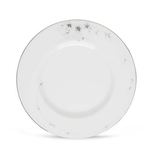 Japanese Kutani-yaki Solid Sakura Porcelain Small Pair Plates White or Pink F//S