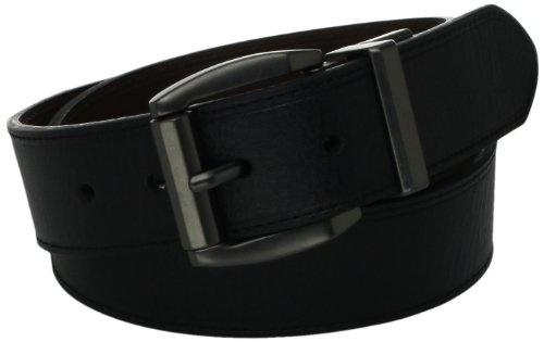 MONIQUE Women Fashion Leopard Print Semi-Covered Oval Buckle 35mm Wide Belt