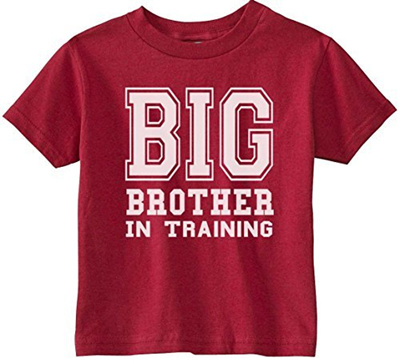 You searched for: big brother t shirt! Etsy is the home to thousands of handmade, vintage, and one-of-a-kind products and gifts related to your search. Big Brother In Training, Big Brother Announcement Shirt, Big Brother Reveal, Big Brother T Shirt Announcement, Big Brother to be Gift CottonandBloom. 5 out of 5 stars () $