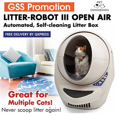 litter robot iii open air automated cat litter box waste dispenser