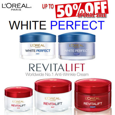 Qoo10 - Loreal White Perfect and Revitalift Dermalift Range Day ...