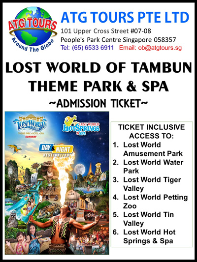 lost world of tambun theme parks in malaysia More than a theme park – lost world of tambun  the food was mostly  malaysian food and rather average the bread was stale and the.