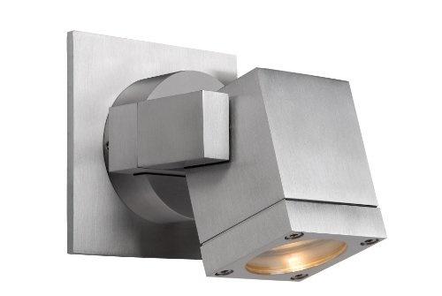 Star Q LED Außenleuchte Strahler 2x 3W Bewegungsmelder