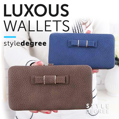 designer coin purse pd1e  LUXOUS Designer Ladies Wallet  Long Design With Zipper! Women Long Wallet!  Hand