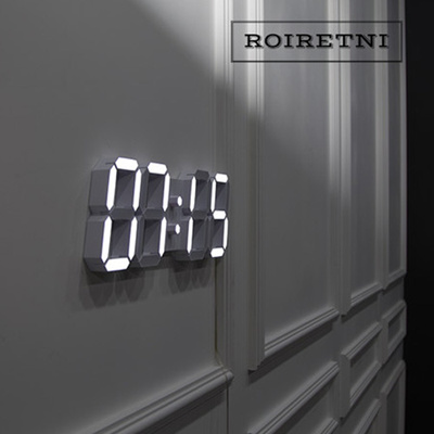 made in korea100 roiretni led wall clock digital wall clock home decoration