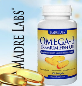 Qoo10 madre labs omega 3 premium fish oil 100 softgels for Oily fish list