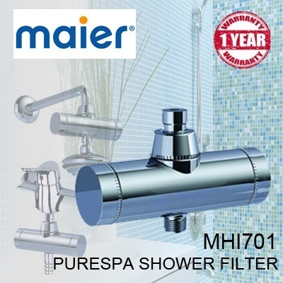 qoo10 maier purespa shower filter household bedding. Black Bedroom Furniture Sets. Home Design Ideas