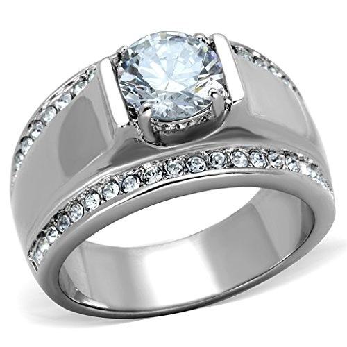 766 ONYX MANS SIMULATED DIAMOND MENS RING ALL SIZES 18KT STEEL BASE MASONIC GOLD