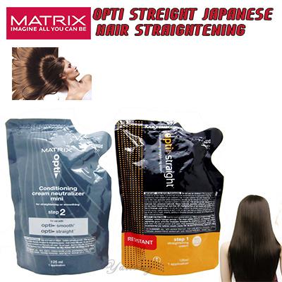 Qoo10 Matrix Opti Straight Japanese Hair Straightening