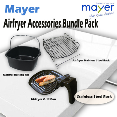 Qoo10 - Mayer Airfryer Accessories Bundle Pack : Home Electronics