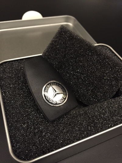 Qoo10 mercedes benz key cover with mb logo for the for Mercedes benz key cover