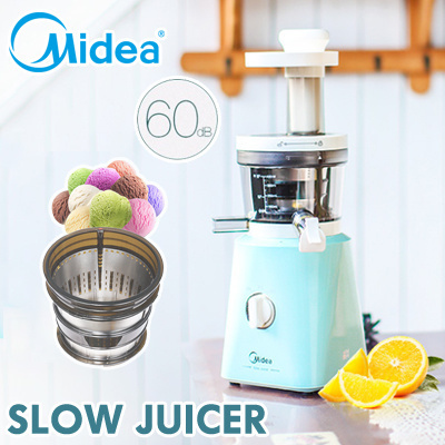 Qoo10 - MIDEA WJS20H31XL-G SLOW JUICER / 60DB / HIGH JUICE EXTRACTION RATE / 6... : Home Electronics