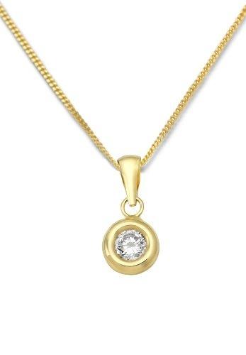 Neu Damen Anhänger Medaillon echt Gold 375 oval 9kt Glanz Weißgold 9 karat Top