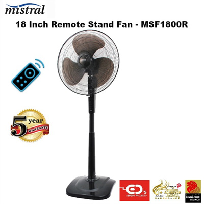 Qoo10 Mistral 18 Inch Remote Stand Fan Msf1800r 5