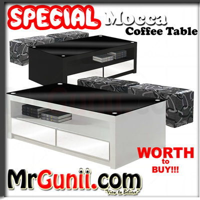 Mocca Coffee Table With Stool | Living Room Furniture FREE DELIVERY FREE  INSTALLATION Part 64