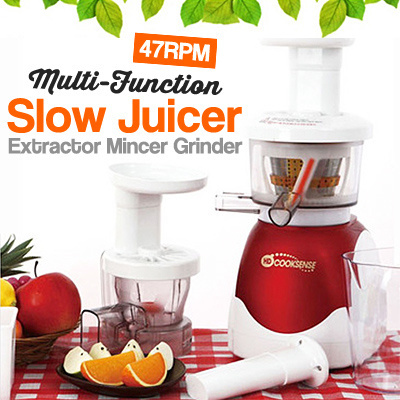 Cooksense Slow Juicer Review : Qoo10 - [ Multiple Slow Juicer ] HYUNDAI MULIPLE CookSense Slow Juicer / Mince... : Home Electronics