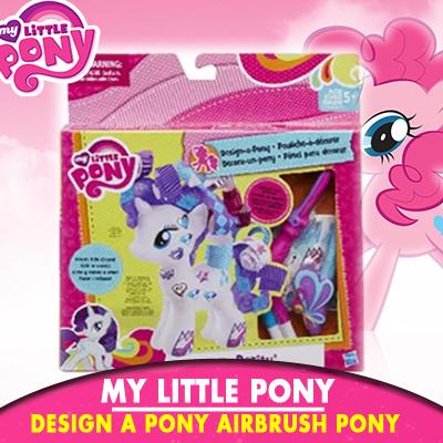 qoo10 mlp design a pony airbrush pony toys