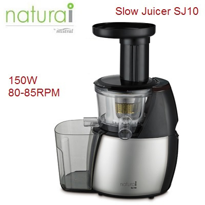 Slow Juicer Top 10 : Qoo10 - Naturai Slow Juicer SJ10. Can Juice all kind of Fruits and vegetables ... : Home Electronics