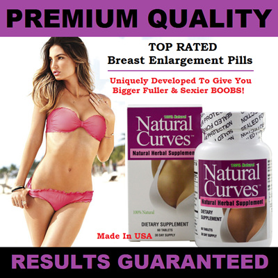 NATURAL CURVES Breast Enlargement Pills (60 Tablets) / To Give You Bigger  Fuller And