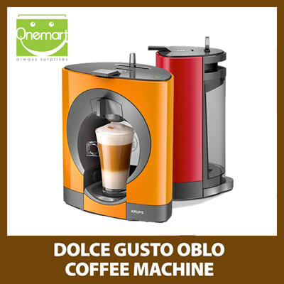 Qoo10 - NESCAFE DOLCE GUSTO OBLO Capsule Coffee Machine : Home Electronics