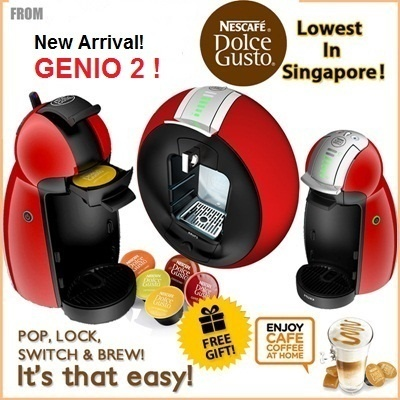 qoo10 nescafe dolce gusto with free capsules espresso. Black Bedroom Furniture Sets. Home Design Ideas