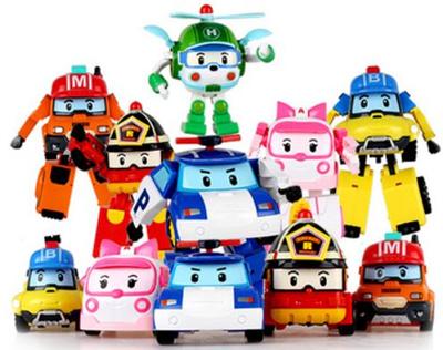 Qoo10 new character robocar poli transformer toy heli roi amber korea toys - Robocar poli ambre ...