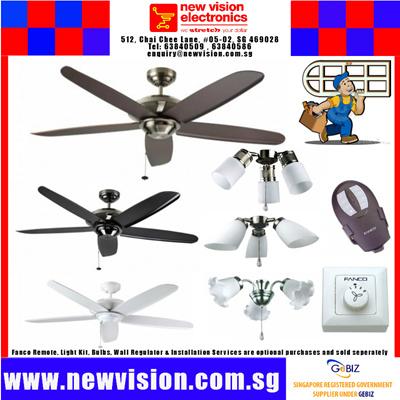 Qoo10 New Fanco Air Fresh 54 Inches Ceiling Fan 3