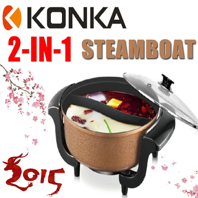 qoo10 steamboat hot cooker : kitchen & dining
