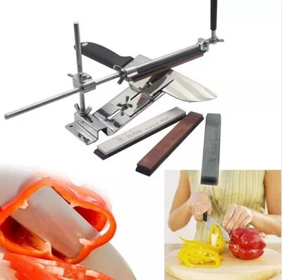 qoo10 new update iron steel knife sharpener professional kitchen knife sharp home electronics. Black Bedroom Furniture Sets. Home Design Ideas