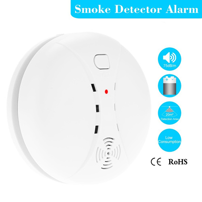 qoo10 new wireless photoelectric smoke detector high sensitive stable fire a furniture deco. Black Bedroom Furniture Sets. Home Design Ideas
