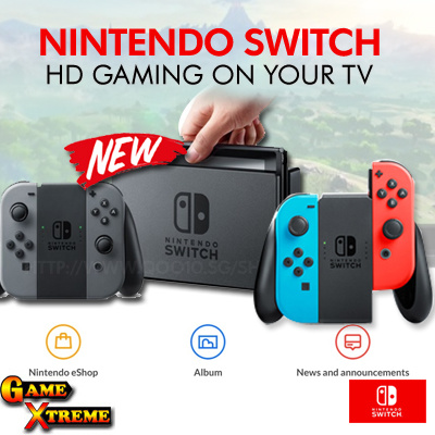 Qoo10 NEW Nintendo Switch w Grey #2: g 400 w g