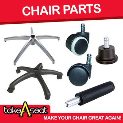 Office Chair Accessories Spare Part For Sale Nylon Aluminum Leg Frame Roller Wheels