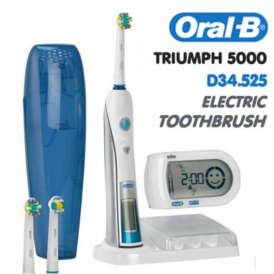 oral b triumph brush