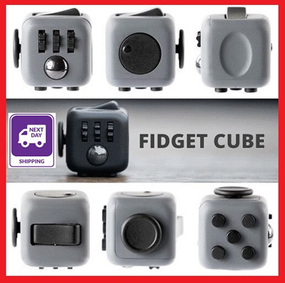 qoo10 original fidget cube by high quality. Black Bedroom Furniture Sets. Home Design Ideas