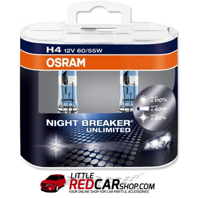 qoo10 osram night breaker unlimited h4 h7 twin pack. Black Bedroom Furniture Sets. Home Design Ideas