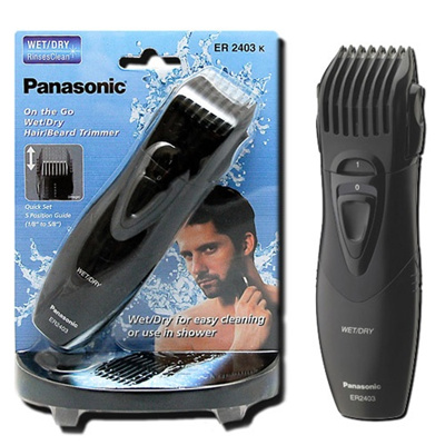 qoo10 panasonic er2403k wet dry hair and beard trimmer wer9606p blade mobile devices. Black Bedroom Furniture Sets. Home Design Ideas